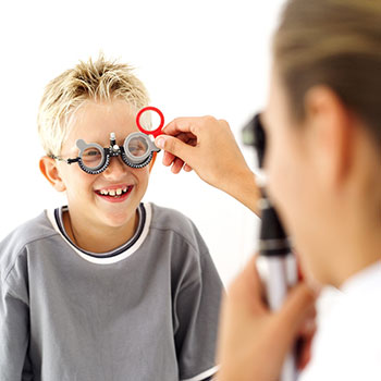 Eye examination children