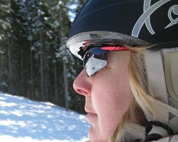 Eyewear for the snow